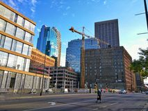 Downtown Minneapolis Stock Photo