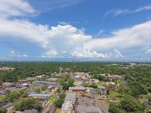 Downtown Mobile Alabama. An aerial view of downtown Mobile, Alabama, USA Stock Image