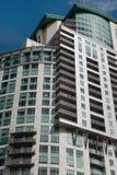 Downtown Modern Buildings in Denver, Colorado Royalty Free Stock Photos