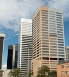 Downtown Modern Buildings in Denver, Colorado Stock Photo