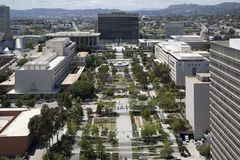 Beatiful downtown of city Los Angels CA USA. Downtown of modern city Los Angels  CA USA stock image