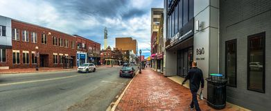 Downtown of Moncton, Canada royalty free stock photography