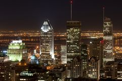 Downtown Montreal Royalty Free Stock Image