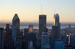 Downtown Montreal Royalty Free Stock Images