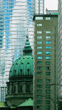 Downtown Montreal Stock Images