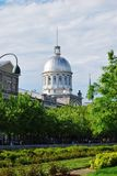 Downtown Montreal, and Bonsecours Market in Quebec stock photo