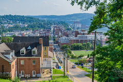 Downtown Morgantown Royalty Free Stock Images