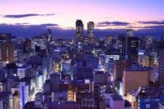 Downtown Nagoya Cityscape Royalty Free Stock Photo
