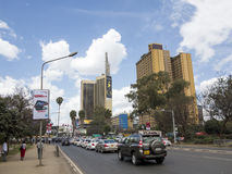 Downtown Nairobi Royalty Free Stock Photos
