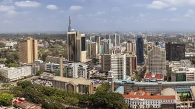 Downtown Nairobi, Kenya