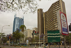 Downtown Nairobi Royalty Free Stock Photo