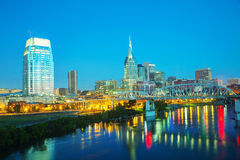 Downtown Nashville cityscape in the morning Royalty Free Stock Photography