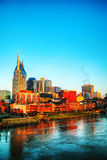 Downtown Nashville cityscape in the morning Stock Images