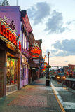 Downtown Nashville in the morning Royalty Free Stock Images