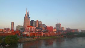 Downtown Nashville in the morning Stock Images