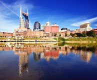 Downtown Nashville Royalty Free Stock Photos