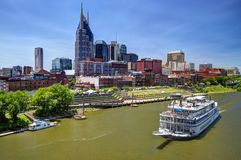 Downtown Nashville Stock Photography