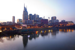 Downtown Nashville, Tennessee Royalty Free Stock Photos