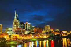 Downtown Nashville, TN Royalty Free Stock Photo
