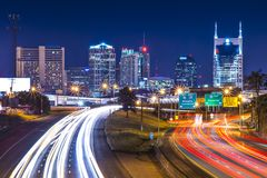 Downtown Nashville Stock Image