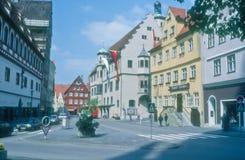 Downtown Neresheim Stock Image