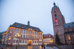 Downtown Neustadt an der Weinstrasse Royalty Free Stock Images