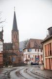 Downtown Neustadt an der Weinstrasse Stock Photography