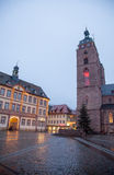 Downtown Neustadt an der Weinstrasse Royalty Free Stock Photos