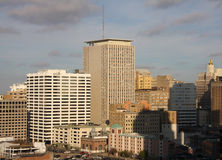 Downtown of New Orleans Stock Photos