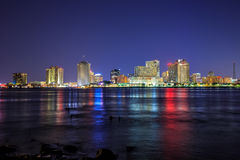Downtown New Orleans, Louisiana and the Mississippi River Stock Photos