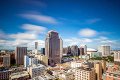 Downtown in New Orleans, Louisiana, USA Royalty Free Stock Images