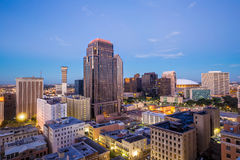 Downtown in New Orleans, Louisiana, USA Stock Images