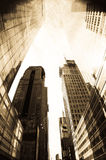 Downtown New York city Royalty Free Stock Photo