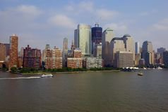 Downtown New York City Stock Images