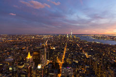 downtown New York city Royalty Free Stock Photography