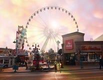 Downtown Niagara Falls City Royalty Free Stock Images