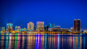 Downtown Norfolk Va. Skyline Stock Photography