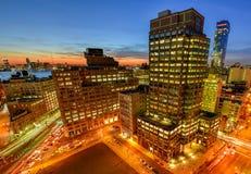 Downtown NYC Skyline Royalty Free Stock Photo