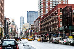 Downtown NYC Royalty Free Stock Photography
