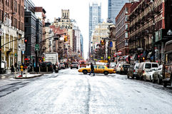 Downtown NYC Royalty Free Stock Photos