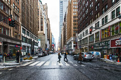 Downtown NYC Royalty Free Stock Photo