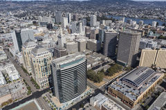 Downtown Oakland Aerial View Stock Photos