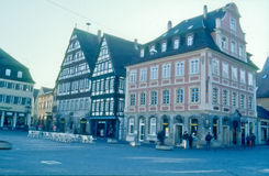 Downtown Oberstaufen Royalty Free Stock Images