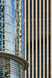 Downtown Office Buildings Abstract Royalty Free Stock Image