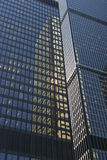 Downtown office buildings Royalty Free Stock Photos