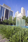 Downtown of Oklahoma City. Fountain in Downtown of Oklahoma City Royalty Free Stock Photography