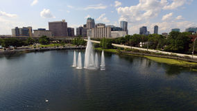 Downtown Orlando Stock Photo