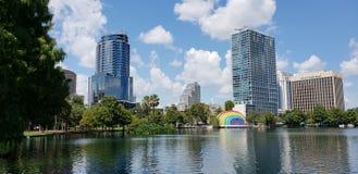 Downtown Orlando Stock Photography
