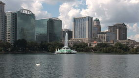 Downtown Orlando in Florida stock footage