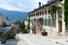 Downtown Orta Royalty Free Stock Photo